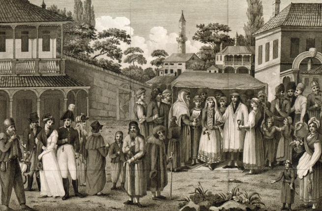 Choppe op de Krim, rond 1804. New York Public Library Digital Collection
