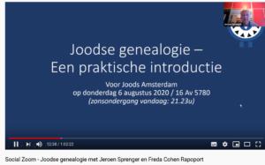 Praktische introductie Joodse genealogie